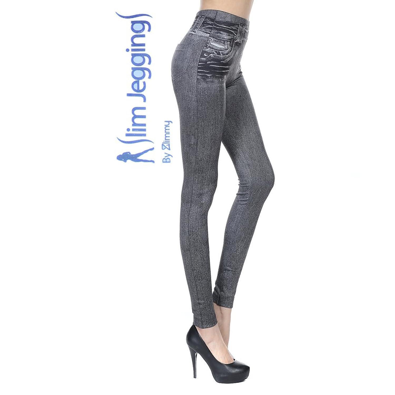 133a6223e3c42 70%OFF Zlimmy@ Slim Jeggings Women Stretch Leggings Jeans (Small, Grey)