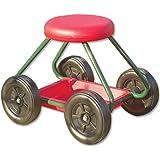 Garden Stool On Wheels The Sit On Gardening Seat Amazon