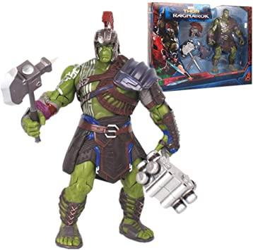Thor Ragnarok 20cm Interactive Gladiator Hulk PVC Action figure toys gifts boxed