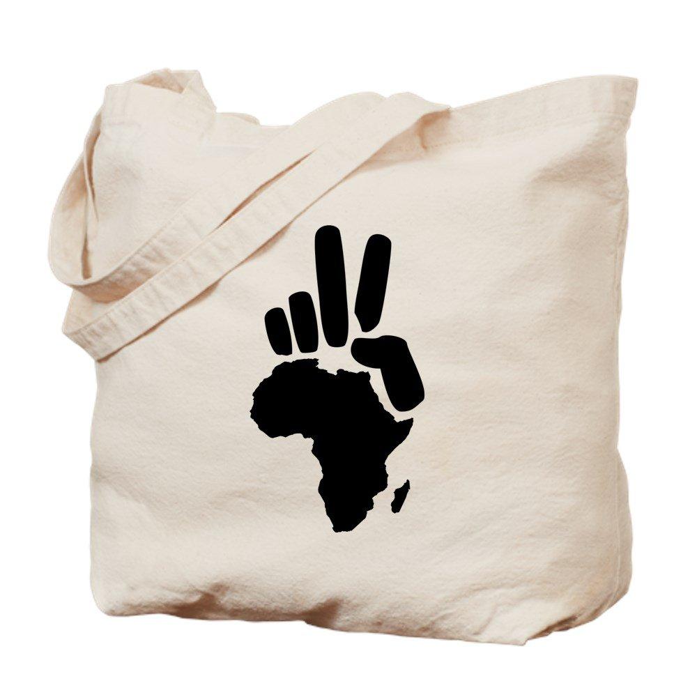 CafePress – アフリカDarfur Peace Handヴィンテージ – ナチュラルキャンバストートバッグ、布ショッピングバッグ B01JNB4RC8