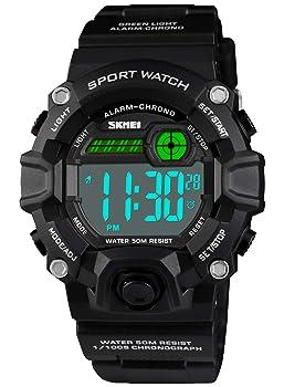 Sport Multi-Function Waterproof Wristwatch for Kids
