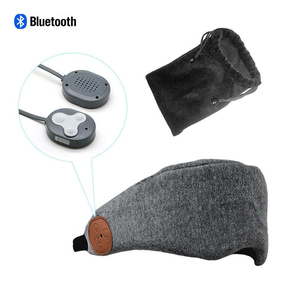 Auriculares Bluetooth Sleeping Eye Mask Inalambrico Sleep Headset Hands-Free Viaje Sleeping Bluetooth V4.2 Blindfold Eye