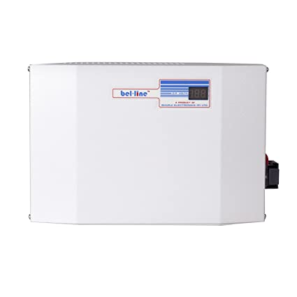 bel-line (bel-4130) Voltage Stabilizer for Air-Conditioner up to 1 5Ton  (White) Working Range - 130V-290V