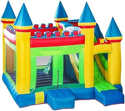 WJSW Castillos hinchables Juguetes Deportivos Jardín Trampolín para niños Parque de diversiones para niños al Aire Libre Equipo de Juegos para niños al Aire Libre Niño y niña Juguetes para: Amazon.es: Deportes