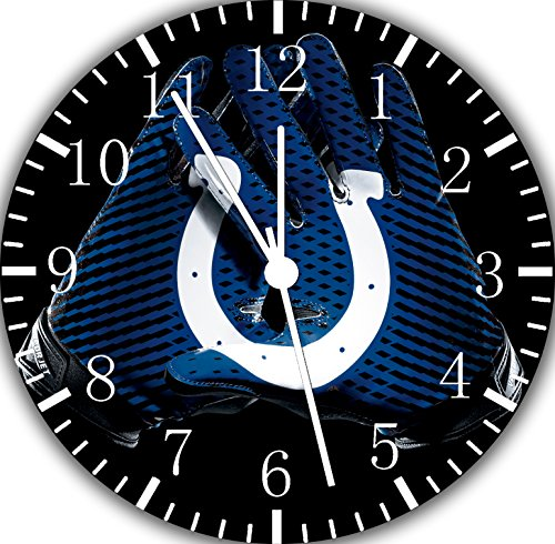 Colts Frameless Borderless Wall Clock F128 Nice for Gift or Room Wall Decor]()