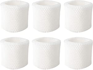 YUEFENG 6 Pack Humidifier Filters Filter Replacement Kit for Honeywell Humidifier HAC-504, HAC-504AW, HCM 350 and Other Cool Mist Models (6)