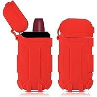 kwmobile Funda para Cargador IQOS Pocket Charger - Case Protector de Silicona TPU - Estuche para IQOS Starter-Kit Rojo