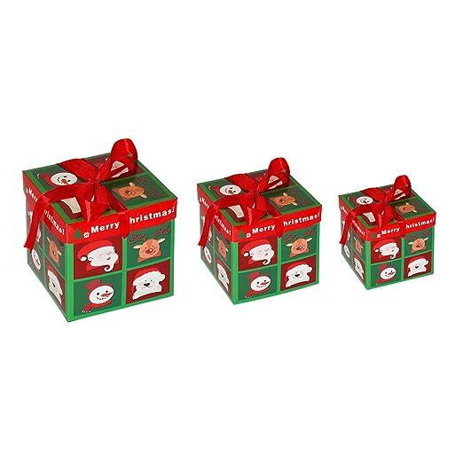Demiawaking - Cajas de Navidad para Regalos, Dulces, Regalos ...