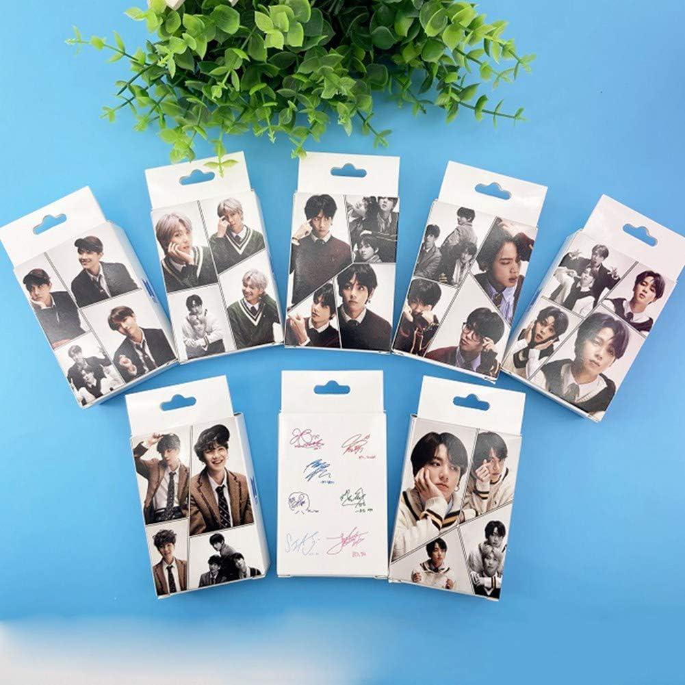 HughFan 30pcs Kpop BTS Photocards New Album Bantan Boys Carte Photo Postale Cartes Lomo Autocollant 6x9cm Gift for A.R.M.Y Fans