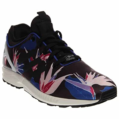 b41c4a2fad0a7 Adidas Zx Flux Nps Mens Running Shoes Size US 9, Regular Width, Color  Black/Blue/Pink