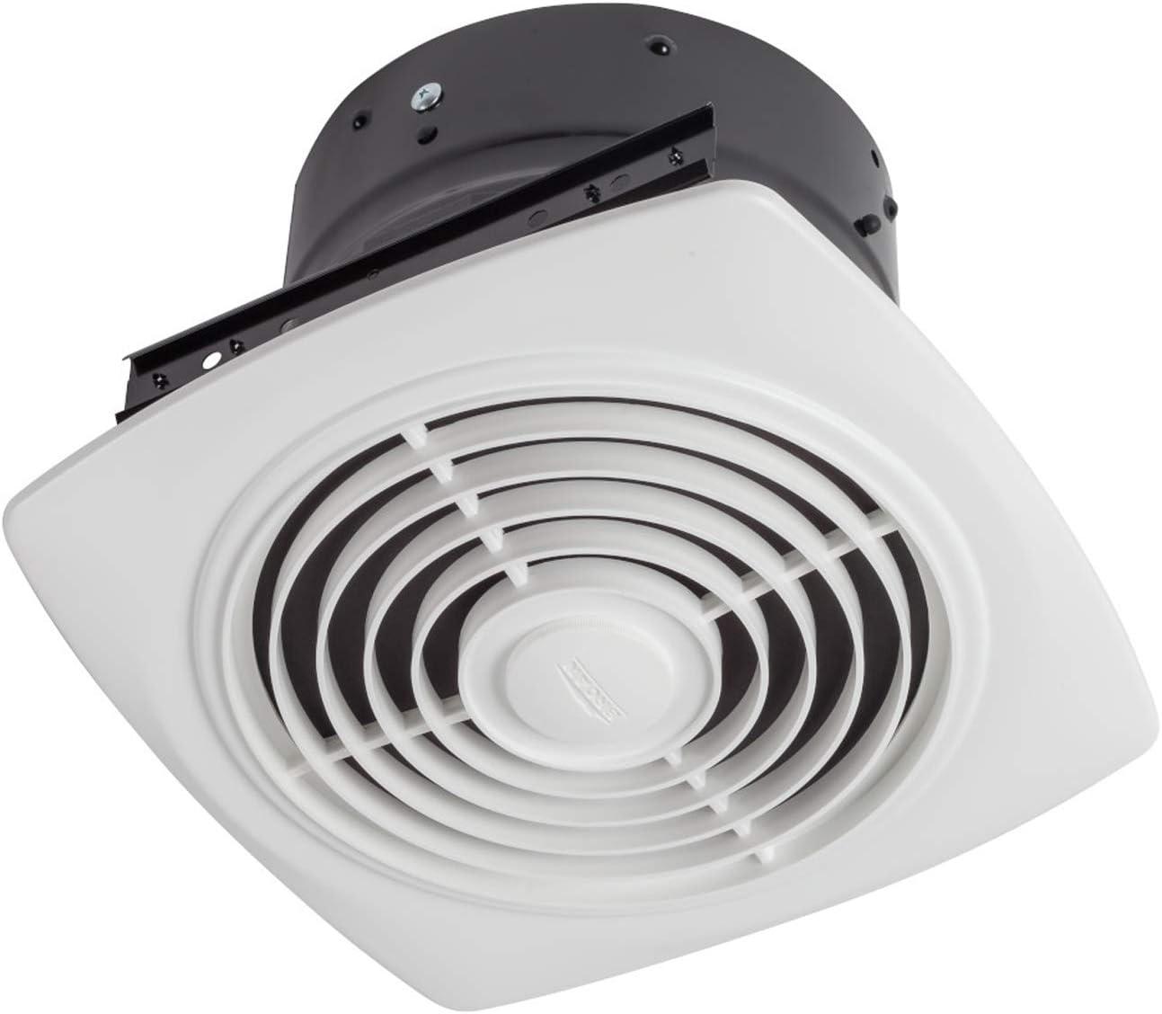 "Broan-Nutone 120V 15/"" D White Designers Series Bath Exhaust Fan"