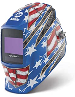Auto Darkening Welding Helmet, Blue, Digital Elite, 3, 5 to 8/