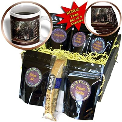 Sandy Mertens Vermont - South Main Street, St. Johnsbury, VT (Vintage) - Coffee Gift Baskets - Coffee Gift Basket (cgb_130830_1)