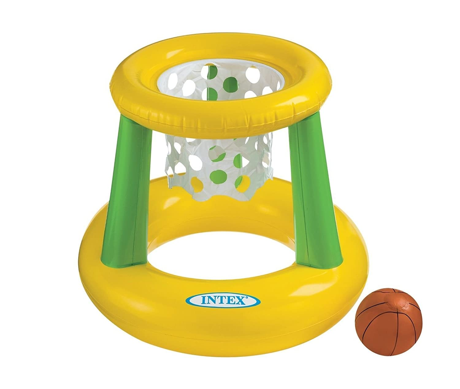 Intex - Floating Hoops 3, Incl Inflatable Pool Hoop & Basketball, Repair Patch by Intex Intex Imports B00KY9NB76