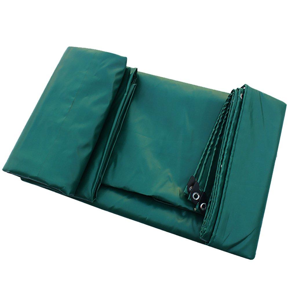 GUOWEI-pengbu ターポリン キャンバス シェード 日焼け止め 耐寒性 防水 不凍液 高密度 プラスチック (色 : Green, サイズ さいず : 1.8x2.8m) B07FXNLK8N 1.8x2.8m Green Green 1.8x2.8m