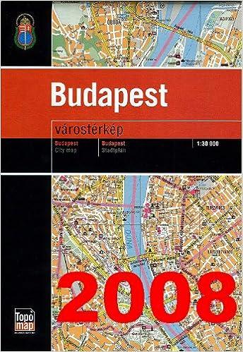 Budapest Terkep Budapest Map Hungarian Edition Kartografiai