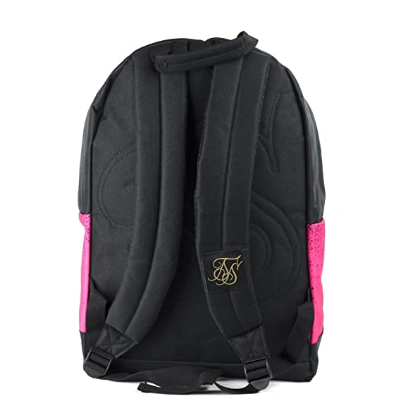 Mochila Siksilk - Dispersed Pouch Backpack rosa/negro: Amazon.es: Equipaje