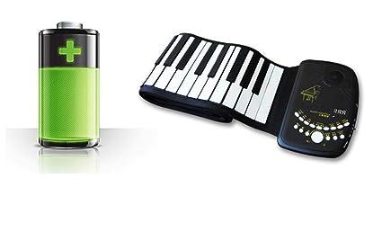 Piano Portatil Flexible De 88 Teclas D88K10 Espesar Con Teclado Suave Plegable, Instrumento De Piano