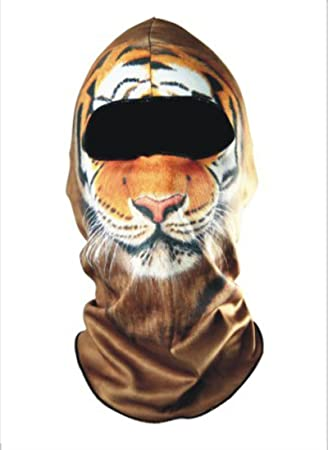 338ecec53a9 Image Unavailable. Image not available for. Color  3D Cycling Bicycle  Motorcycle Skull Cap Balaclava Headgear Hats Full Face Mask
