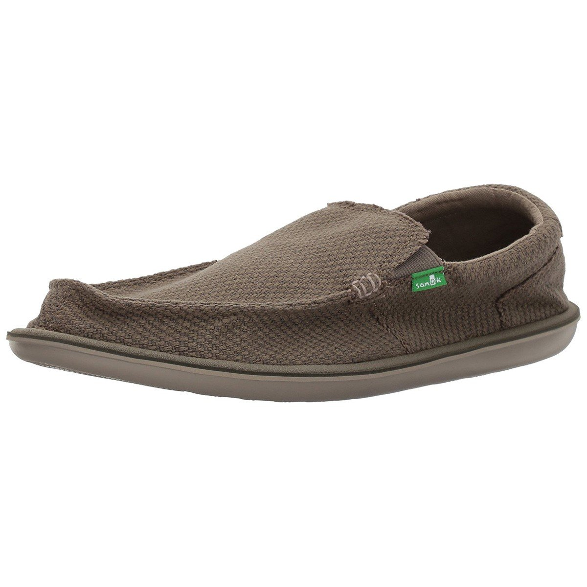 Sanuk Men's Chibalicious Slip-On, Brindle, 8 M US