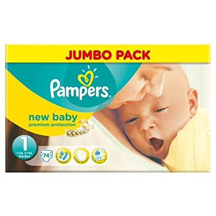 Pampers New Baby Pañales