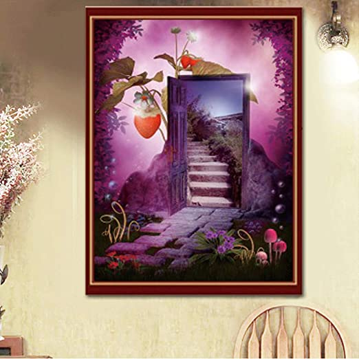 DIY 5D Diamond Painting Kits By Number Full Drill vase 30X40CM Diamond art Embroidery Cross Stitch Pictures Arts Craft Home Wall Decor Gift