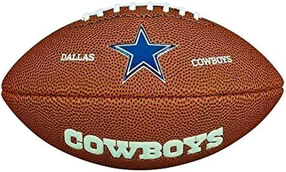 Wilson NFL Team Logo Dallas Cowboys Mini balón de fútbol Americano ...