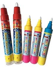 5 PCS Remplacement D'eau Doodle Peinture Stylos, Dessin Doodle Magique Stylos pour Doodle tapis, tapis Magique,Water W,Doodle Mat
