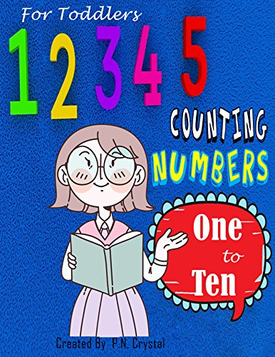 Counting Numbers  one to ten For Toddlers