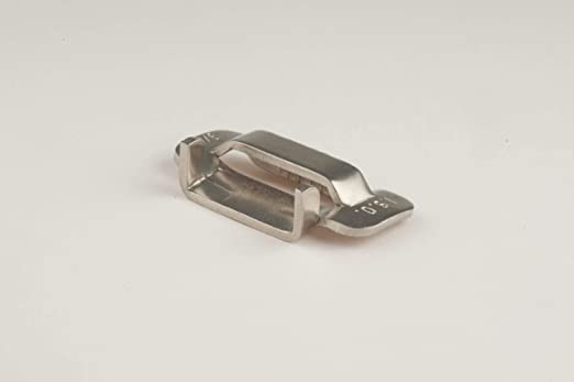 """100pcs 3//4/"""" Inch Stainless Steel 316 Strapping Buckle"""