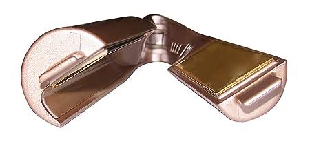 Plancha de Pelo para Ondas, Bucles y Rizos Profesional Titanio Curliss Gold by AGV: Amazon.es: Salud y cuidado personal