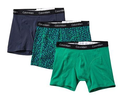 84a3c202e103 Calvin Klein Men's Elements 3 Pack Boxer Briefs at Amazon Men's ...