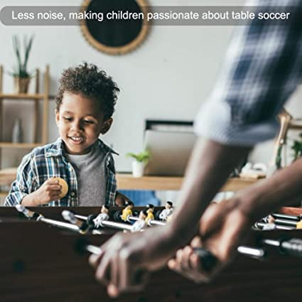 chlius Futbolín de Recambio 6PCS/12PCS Mini Reemplazos de Pelotas de Fútbol de Madera 36MM Bolas de Kicker de Corcho Ligera, Accesorios de Fútbol de Mesa, Muy silenciosas: Amazon.es: Deportes y aire libre