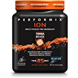 PERFORMIX ION MultiPhase PreWorkout, Maximum Pump Technology, Ballistic Muscle Energy, Enhanced Mental Focus, 45 Servings, Blue Ice