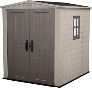 Amazon.com : KETER Factor 6x6 Large Resin Outdoor Shed for