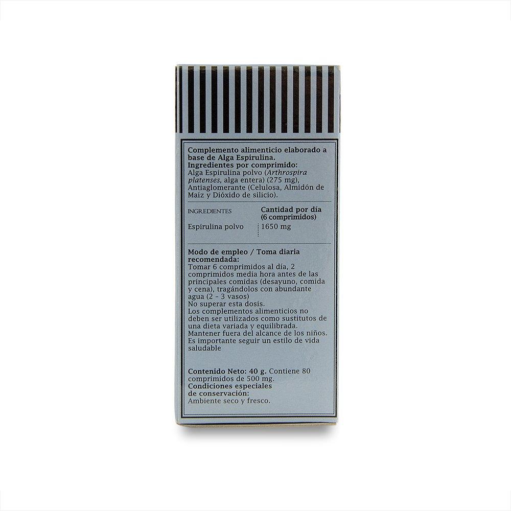 ProNutri Spirulina - 3 Paquetes de 80 Cápsulas: Amazon.es: Salud y cuidado personal