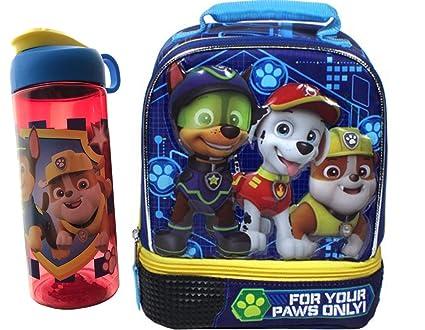 Amazon.com: Botella azul Paw Patrol Mini Kit de aventura ...