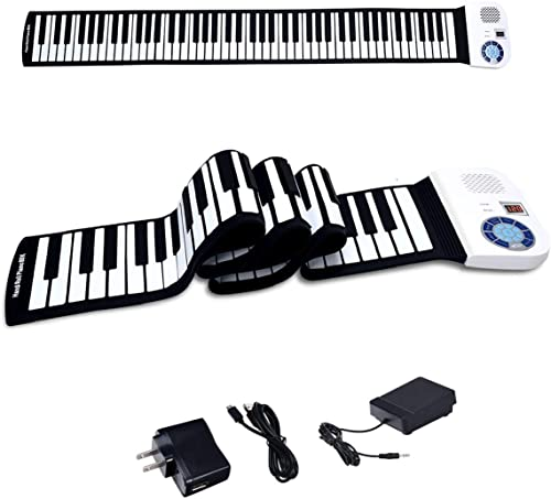 BABY JOY 88 Keys Roll Up Piano