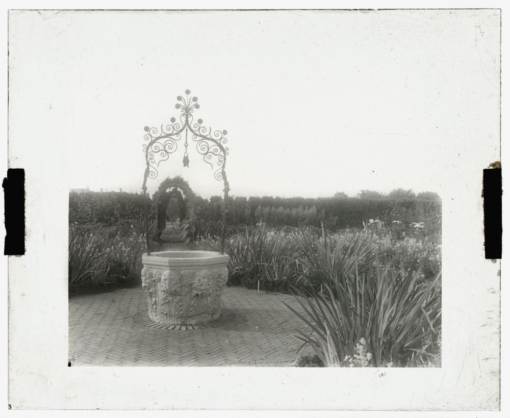 Historic Photos 1916 Photo Brookside, William Hall Walker house, Brookside Road, Great Barrington, Massachusetts. Well head Location: Great Barrington, Massachusetts