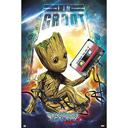 Grupo Erik editores Guardians of The Galaxy Vol 2 Groot gpe5150 – Poster by Grupo Erik Editores (Image #2)