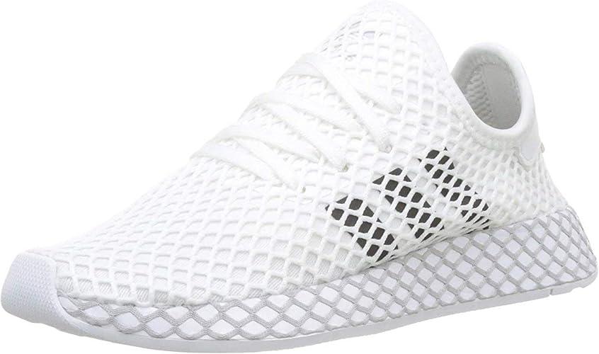 chaussure adidas deerupt runner blanche