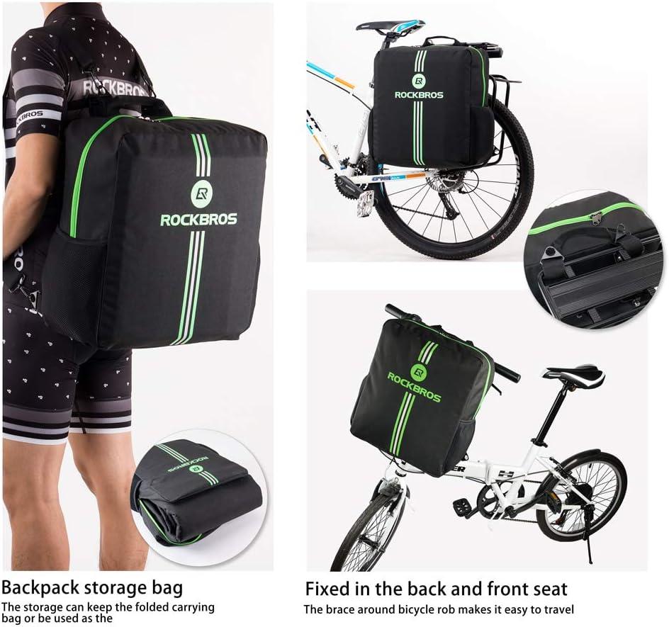 Plegable Bolsa de Transporte para Bicicleta Oxford 600D Resistente al Agua HSNMEY para Transporte de Aire y Viajes