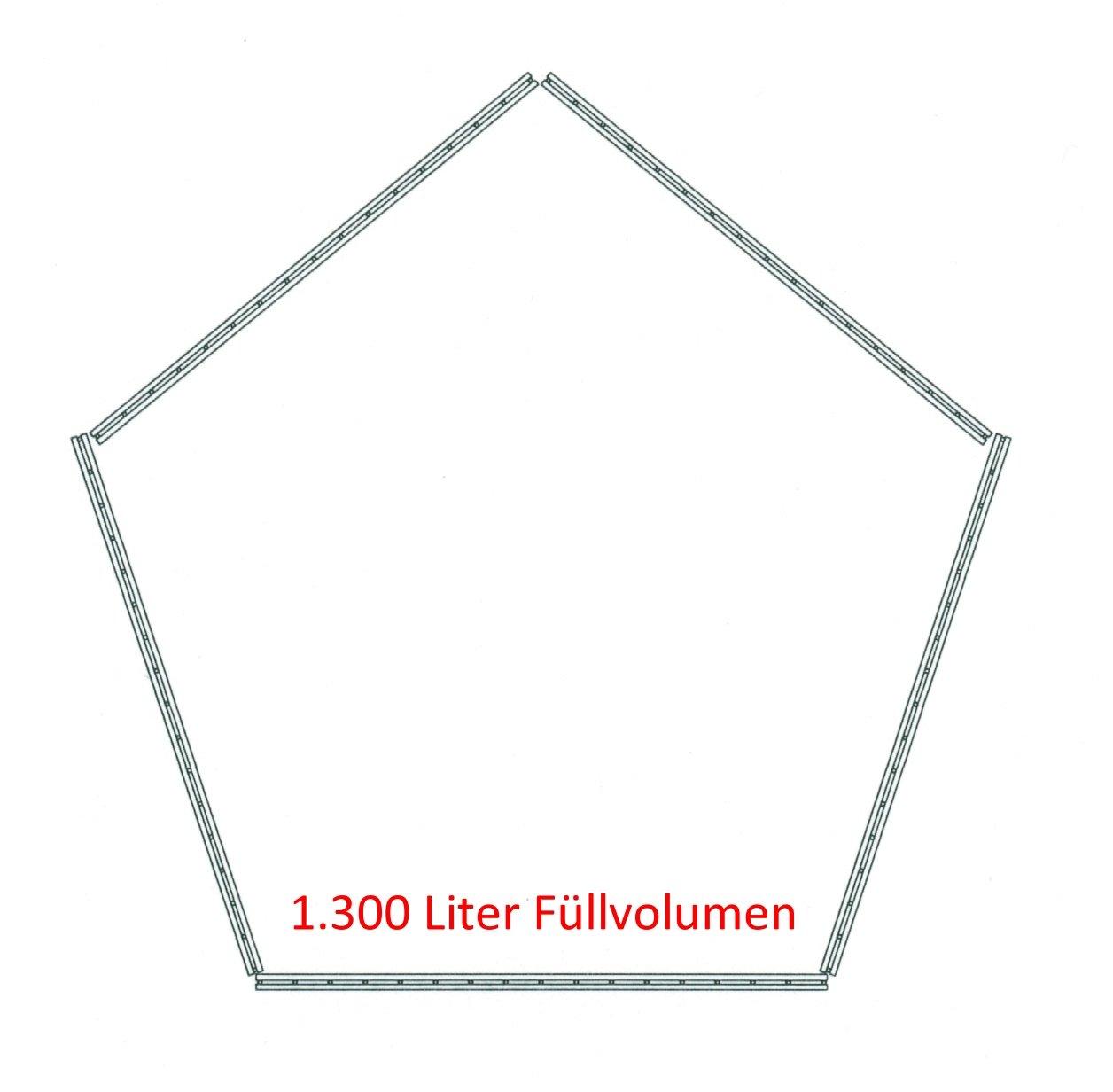 Sia 75565 - Interfaz compostador Pentagon 1.300 litros de ...