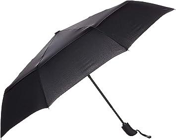 AmazonBasics - Paraguas de viaje automático (diámetro 98 cm ...