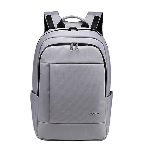 373 opinioni per Tigernu unico impermeabile resistente anti-furto Zip'Laptop zaino scuola