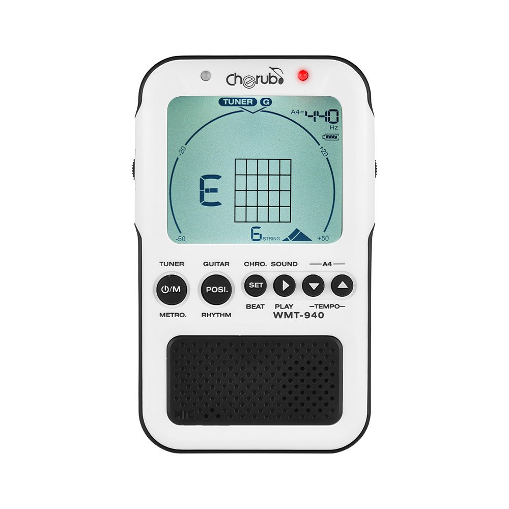 Ammoon cherub 4 in 1 guitar chord tool chromatic tuner ammoon cherub 4 in 1 guitar chord tool chromatic tuner metronome tone generator lcd display with built in lithium battery usb charge cable wmt 940 hexwebz Choice Image