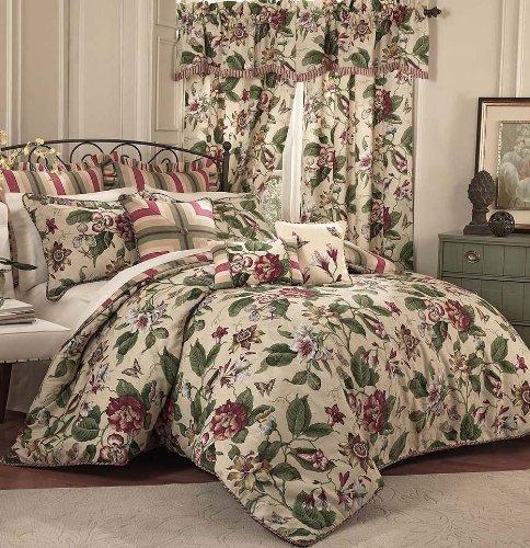 (Waverly 4-Piece Laurel Springs Comforter Set, King)
