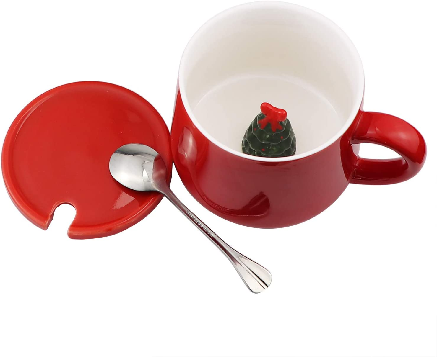 3D Christmas Tree Mugs
