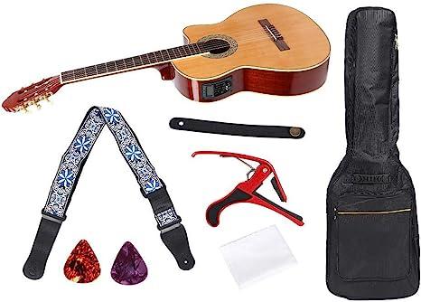 Bnineteenteam Juego de Guitarra clásica Cortada, Juego de Guitarra ...