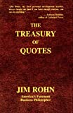 img - for Treasury of Quotes by E. James Rohn (1996-10-02) book / textbook / text book